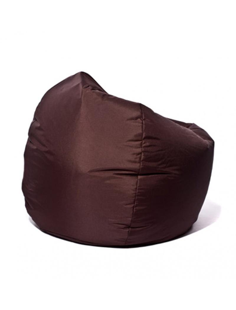 Jumbo bag Pouf Scuba XXL Chocolat