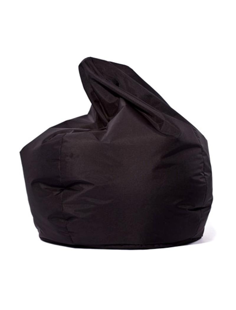 Jumbo bag Pouf Scuba XXL Noir
