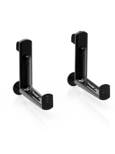 Supports balconnière (accroche) Balconera Noir