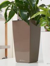 Pot de table Maxi Cubi Ø 14 Taupe brillant