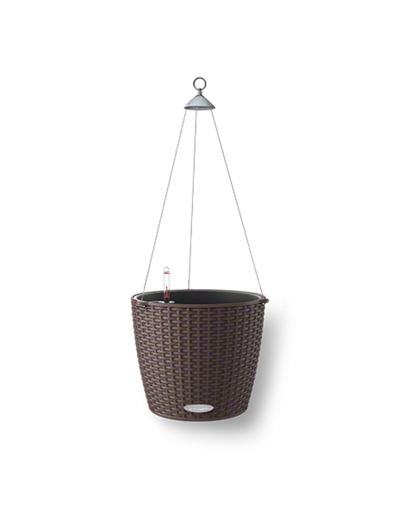 jardini re suspendue nido cottage moka lechuza pot de. Black Bedroom Furniture Sets. Home Design Ideas
