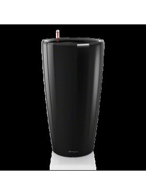 Pot Rondo Noir brillant kit complet