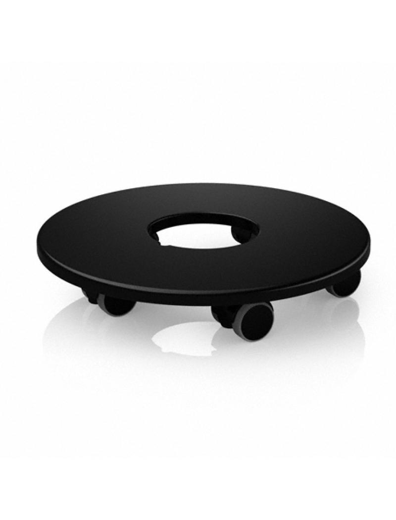 Lechuza Support Roulettes Pour Pots Classico Et Quadro # Table De Jardin A Roulettes
