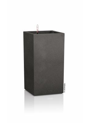 Pot Canto Stone colonne Noir graphite