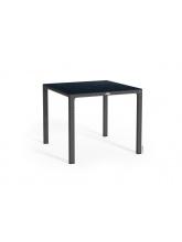 Table carrée granit plateau HPL