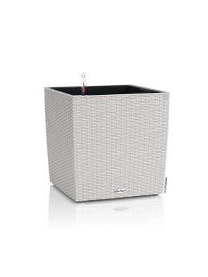 Pot Cube Cottage gris clair