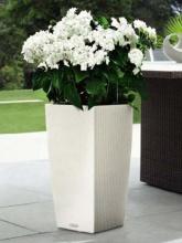 Pot Cubico Cottage blanc