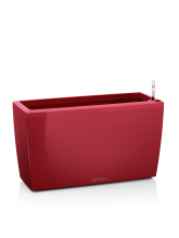 Pot Cararo rouge brillant avec set d'arrosage