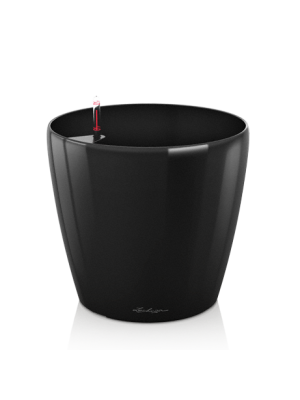 Grand pot Classico premium Noir brillant
