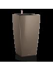 Pot Cubico premium Taupe brillant