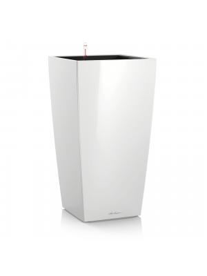 Pot Cubico premium Blanc brillant