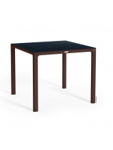 Table carrée Moka plateau HPL