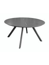 Table ronde Seven 150 alu Graphite