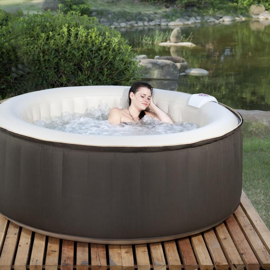 Le spa gonflable O Spazia rond : places disponibles pour un