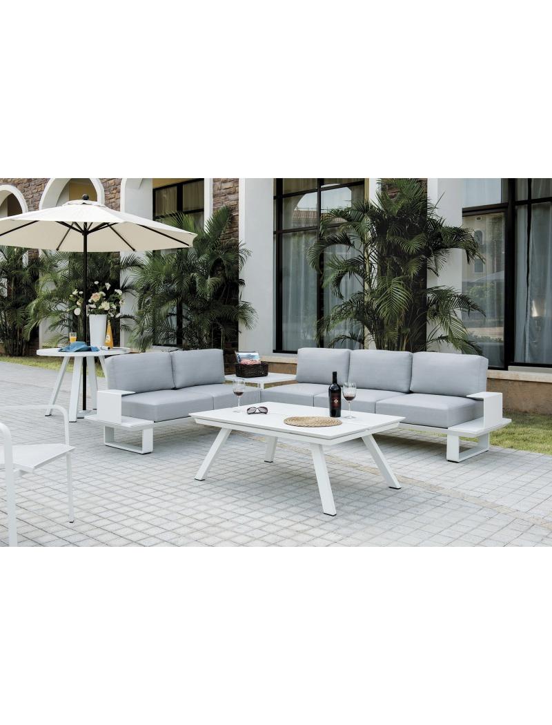 Salon de jardin sacramento ozalide salons de jardin for Jardin concept