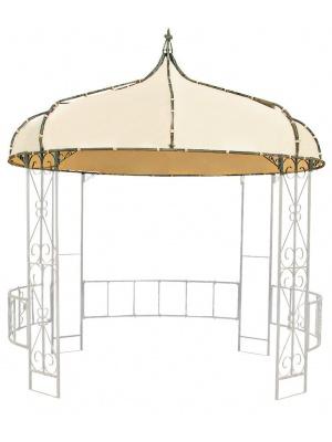 Toile pour Gloriette ronde 3m en acier