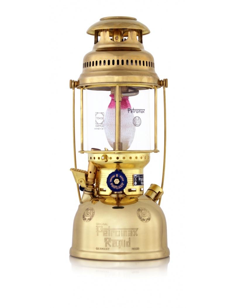 Lampe à pétrole HK500 laiton poli