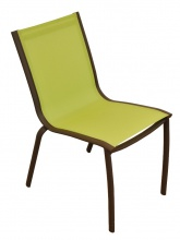 Chaise Linéa Rouille / Lime
