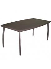 Table aluminium - Linéa rouille