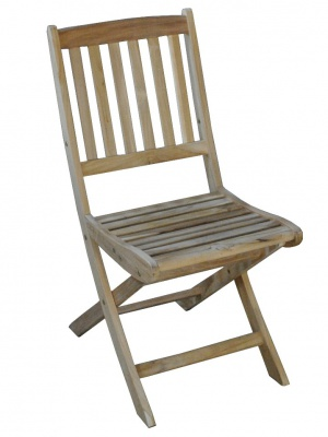 Chaise pliante Vittel en teck FSC
