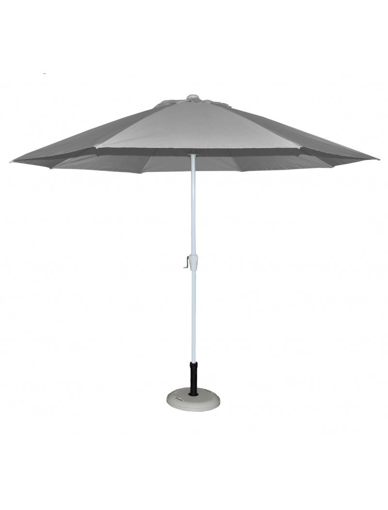 Parasol alu rond 300 gris