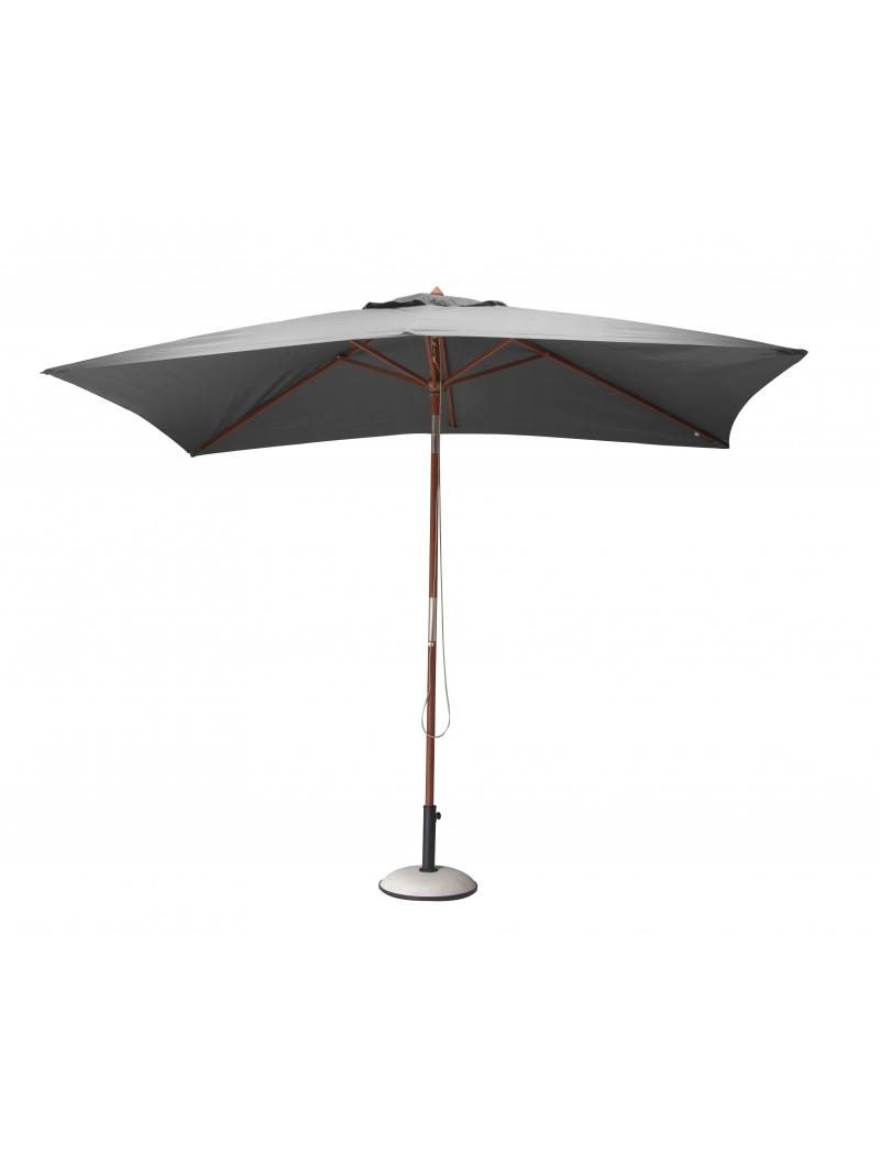 parasol rectangulaire gris