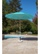 Parasol rond 270 turquoise