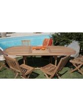 visuel Tables de jardin en bois