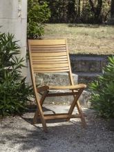 Chaise de jardin Impala en eucalyptus