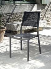 Chaise de jardin Florence Brun Taupe
