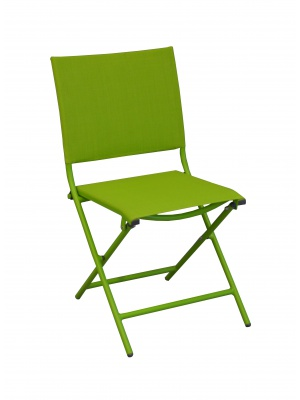 Chaise Globe pliante Vert mousse