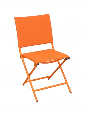 Chaise Globe pliante Orange