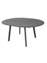 Table Brasa 150/200 Grise avec allonge