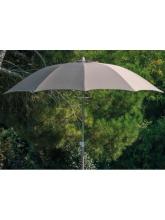 Parasol fibre de verre 270 Taupe