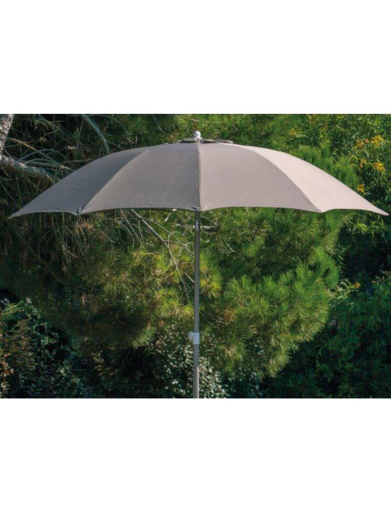 Proloisirs Parasol fibre de verre 270 Taupe