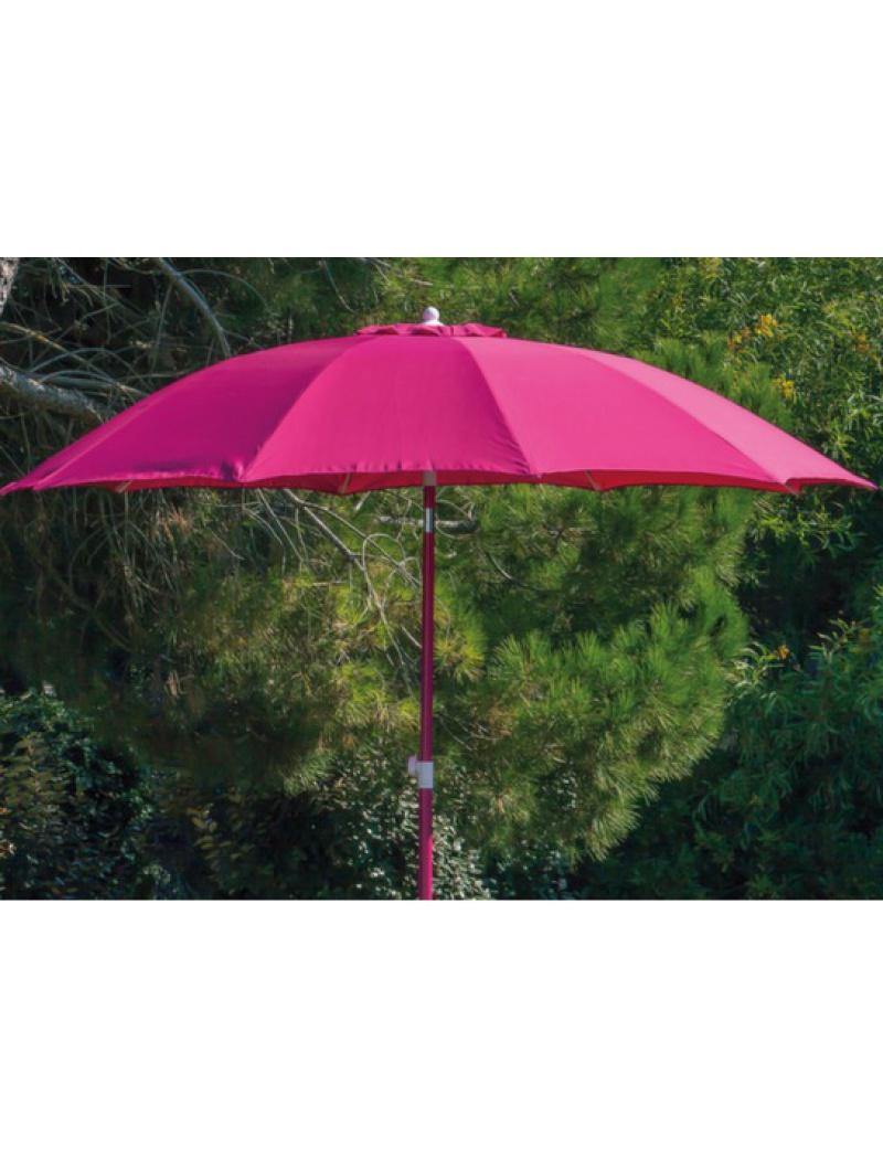Proloisirs Parasol fibre de verre 270 Framboise