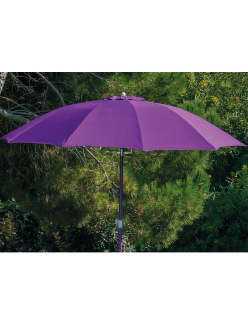 Proloisirs Parasol fibre de verre 270 Cassis