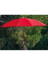 Parasol fibre de verre 270 Rouge