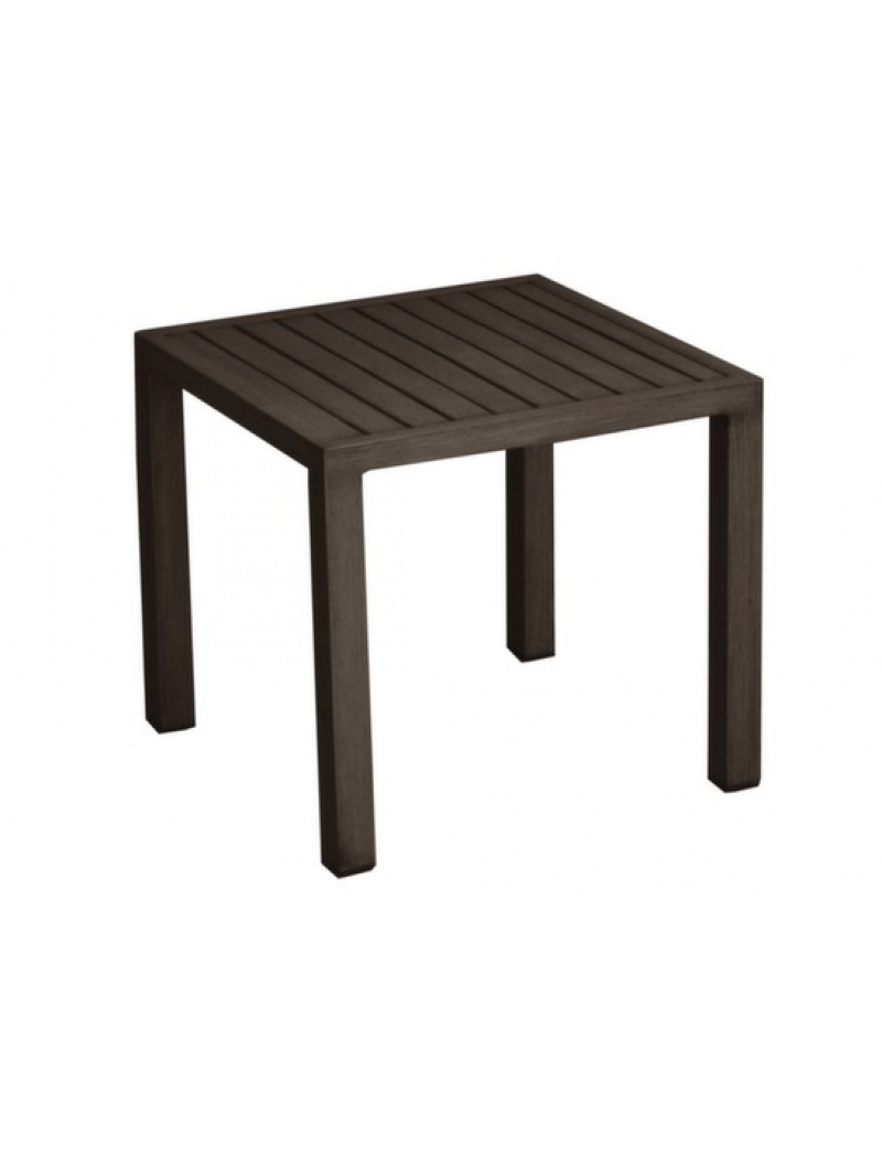 Table basse florence brun proloisirs tables basses poufs jardin concept - Table basse jardin d ulysse ...