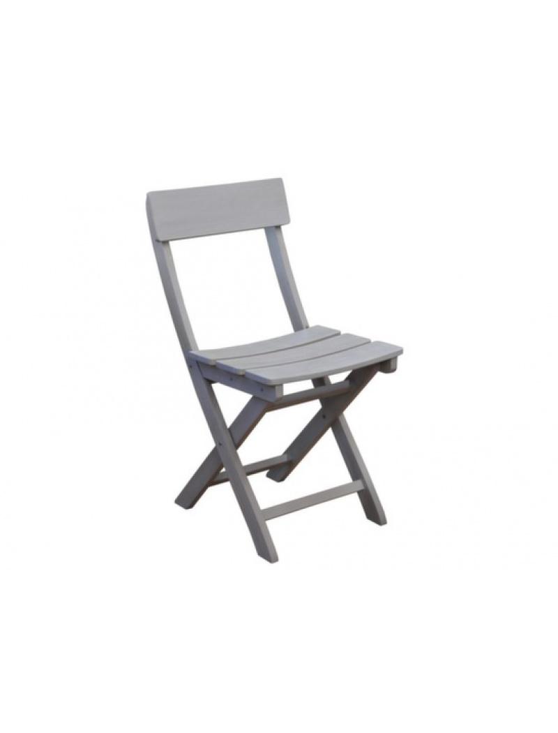 Chaise pliante Niagara en acacia Proloisirs - Chaises & fauteuils ...