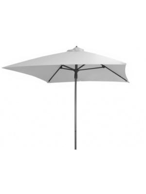 Parasol alu 2x2 Blanc