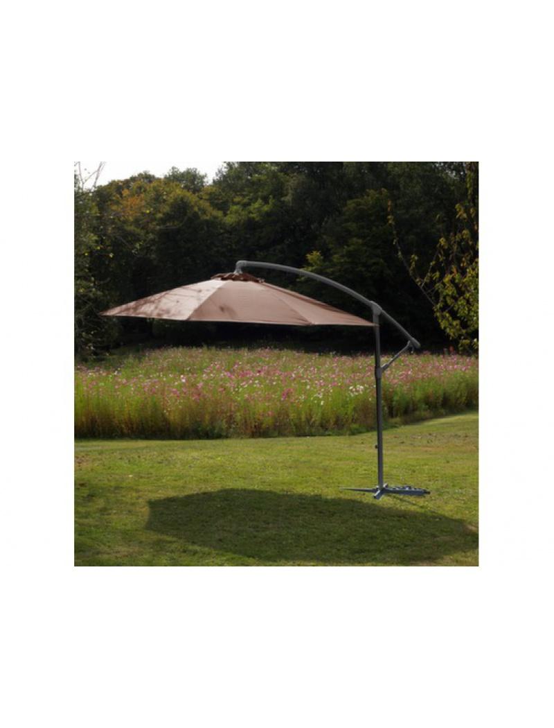 parasol d port co taupe proloisirs parasol store jardin concept. Black Bedroom Furniture Sets. Home Design Ideas