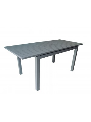 Table Trieste 180/240 Grise avec allonge