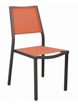Chaise de jardin Florence Café / Paprika