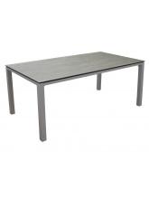 Table Stoneo 180 plateau TRESPA® Taupe Bois