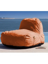 Chaise Pouf MALIBU orange
