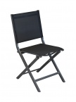Chaise pliante Thema Gris / Noir