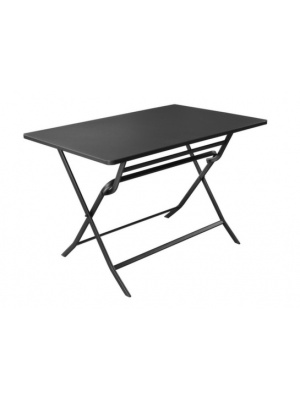 Table de jardin pliante rectangle NONZA grise
