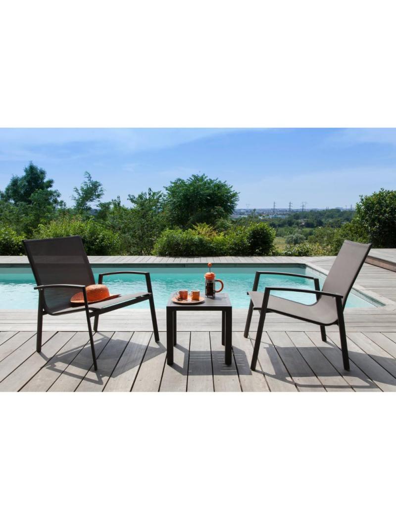 Salon De Jardin Lounge Palma Café Proloisirs