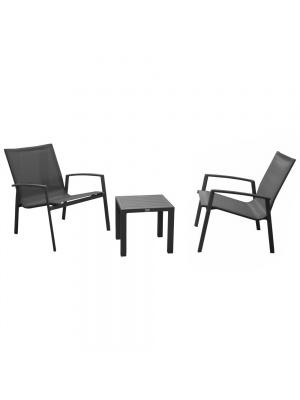 Salon de jardin Lounge Palma gris